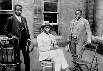 GeorgeO.Marke, KojoTovalou-Houénou, and Marcus Garvey