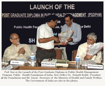 The Indian Journey in Global Health: Recent Historic Developments and Opportunities