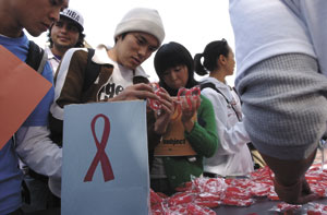 Students Take Action to Fight AIDS