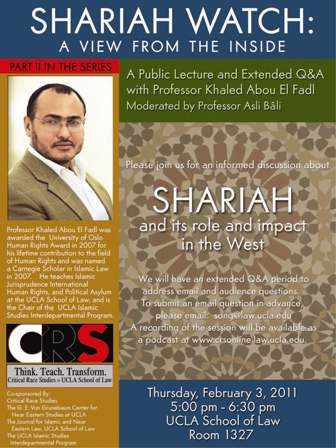 Shariah Watch: A View from the Inside