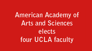 Photo for UCLA artist, historian, sociologist and