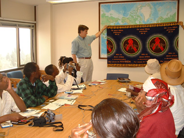 AIDS, Art and Activism: Delegation from Angola and Mozambique Visits UCLA