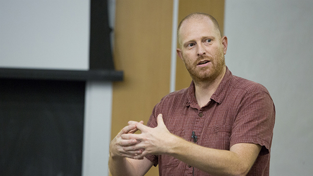 UCLA geographer Adam Moore receives book award