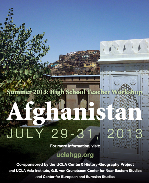 Image for Summer 2013 - High School Teacher Workshop: Afghanistan