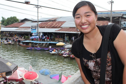 Language skills, political awareness bolstered during student's summer in Thailand