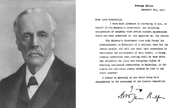 Photo for The Balfour Declaration and its