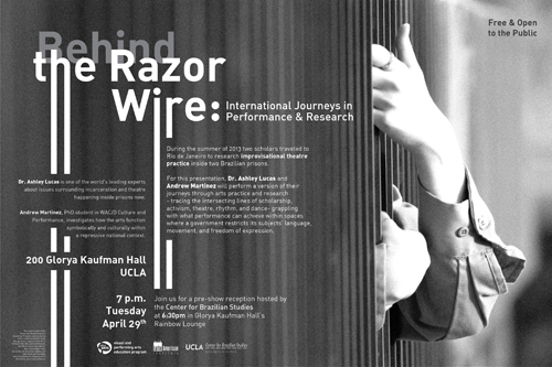 Behind the Razor Wire: International Journeys in Performance & Research