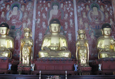 Large collection of Buddhist relics in Rosemead
