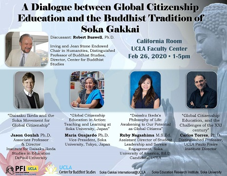A Dialogue between Global Citizenship Education and the Buddhist Tradition of Soka Gakkai