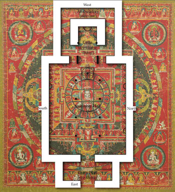 A Three-Dimensional Mandala? An Analysis of the Tabo Main Temple