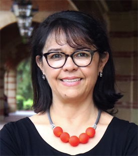 Prof. Cecilia Menjívar. (Photo courtesy of UCLA Latin Policy & Politics Initiative.)