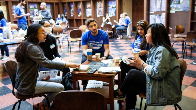image for Conversation Cafe features international students