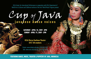 Cup of Java: Javanese Dance Voices