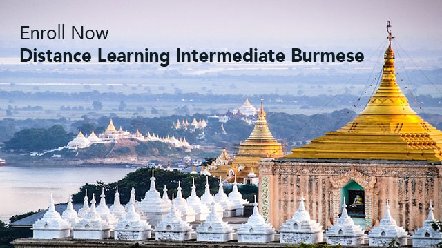 Photo for Distance Learning Intermediate Burmese