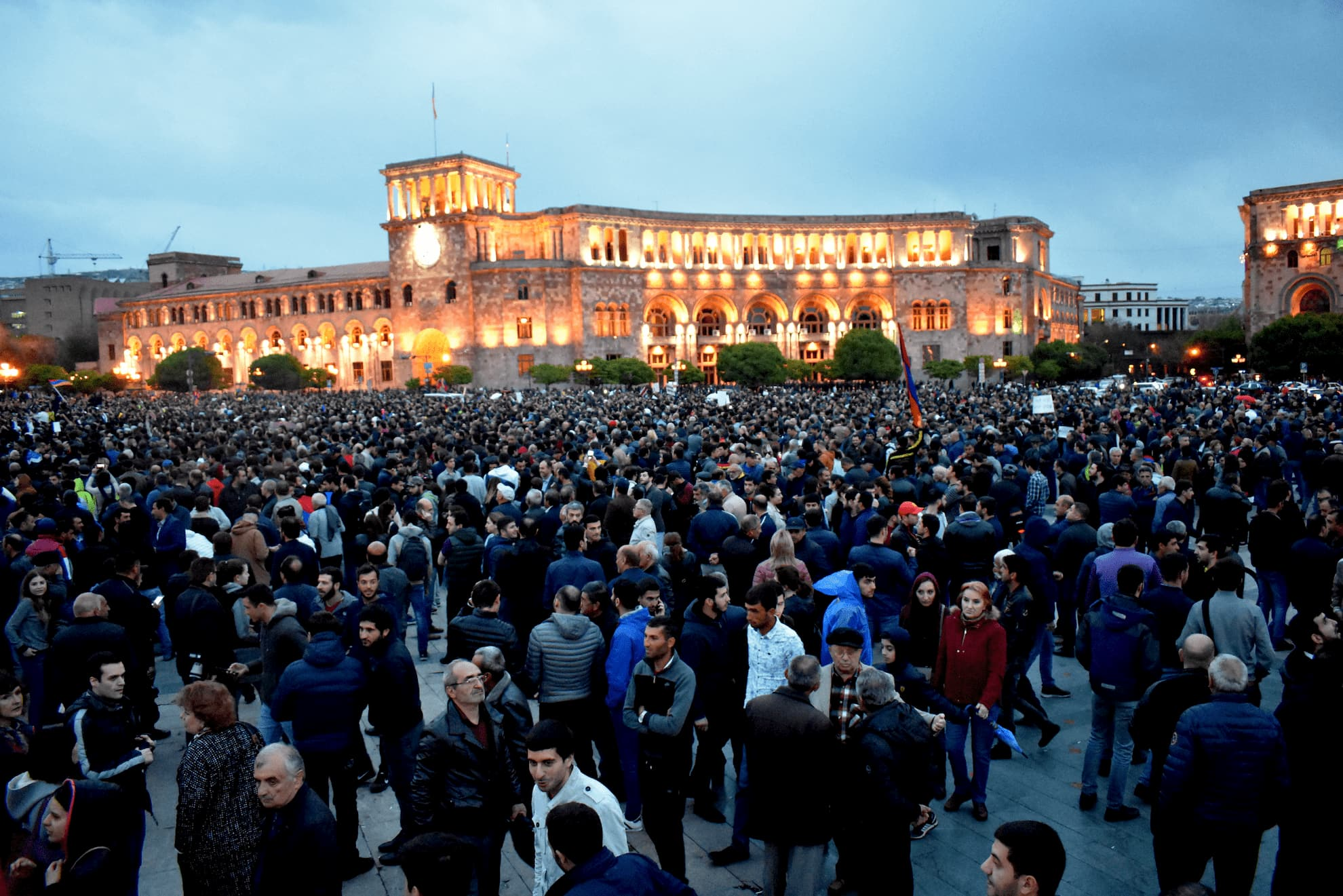 Image for Demonstration in Yerevan