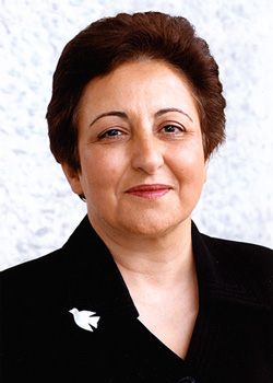 Shirin Ebadi, Winner of the 2003 Nobel Prize for Peace