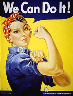 we can do it, gender equality, feminism