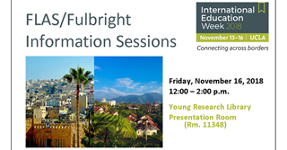 Image for Featured Event: FLAS/ Fulbright Information Sessions