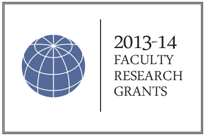 The UCLA Burkle Center is Proud To Announce Its 2013-14 Faculty Grant Recipients