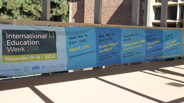 International Education Week reaches new heights on campus