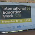 Image for International Education Week reaches new heights on campus