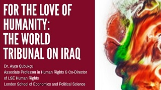 Image for For the Love of Humanity: The World Tribunal on Iraq