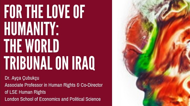 CANCELLED -- For the Love of Humanity: The World Tribunal on Iraq