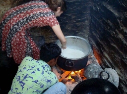 The best way to get to know people in the small town of Dharwad, Foukesman discovered, was to ask for cooking lessons.