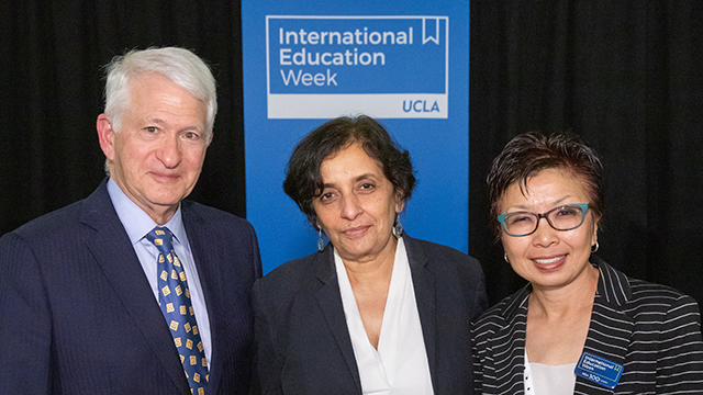 image for UCLA Global Conversation addresses the importance of international education