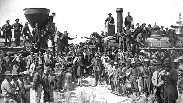 Builders of the Transcontinental Railroad: Traversing China and America