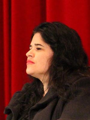 Karina Galindo. (Photo: Kevin Sprague/ UCLA.)
