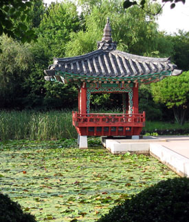 "Botanical garden on Jeju Island, South Korea. (Photo: <a href=""http://bit.ly/2xlIpLL"">Richardfabi</a> via Wikicommons, 2003; cropped. <a href=""http://goo.gl/BUqs"">CC-BY-SA-3.0</a>."