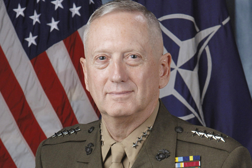 CENTCOM Gen. James Mattis to share experiences from war zone