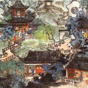Tuesday Afternoon Talk - Imaging a Chinese Garden:  Illustrations of the Grand View Garden (Daguanyuan) from A Dream of Red Mansions (Hongloumeng)