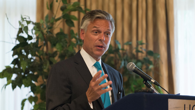 Jon Huntsman urges the United States to get its political house in order