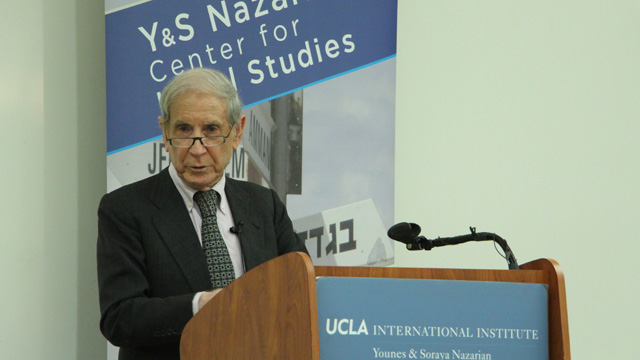 Former Foreign Minister addresses ethnic nationalism in Israel and beyond