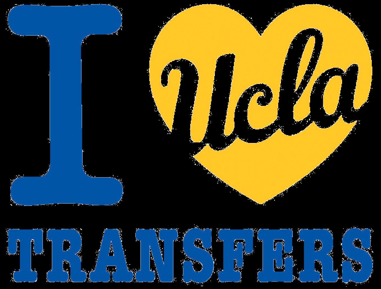 I Love UCLA Transfers logo