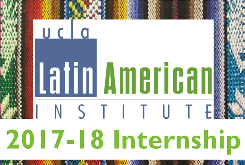 2017-2018 UCLA Latin American Institute Internship