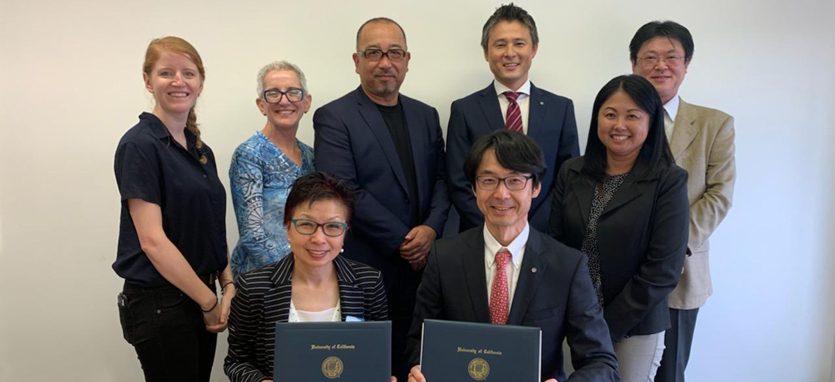 JAL signs first-ever memorandum of understanding with UCLA