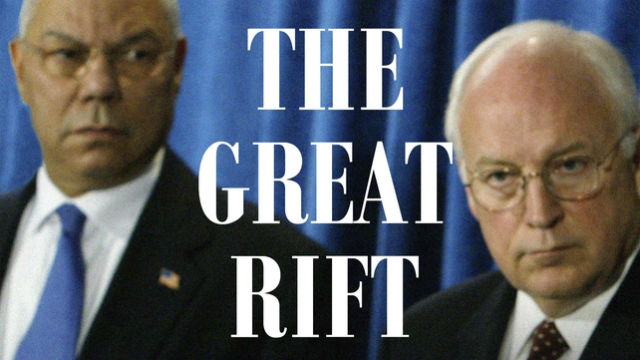 "PODCAST: ""The Great Rift: Dick Cheney, Colin Powell, and the Broken Friendship That Defined an Era"""
