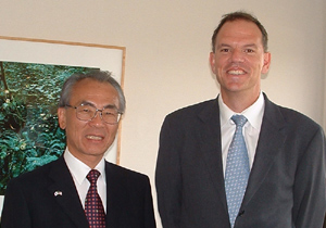 Japanese Consul General Meets with UCLA Administrators & Faculty