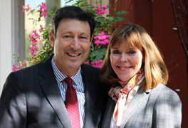 Terry and Suzan Kramer. (Photo: Peggy McInerny/ UCLA.)
