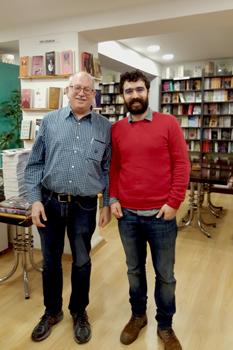 Kurdish bookshop in Istanbul.