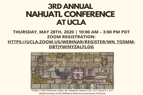 3rd Annual Nahuatl Conference at UCLA