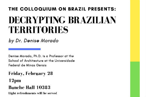 Decrypting Brazilian Territories