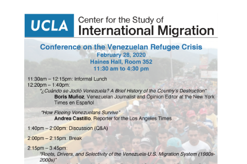 Conference on the Venezuelan Refugee Crisis