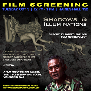 Film Screening: 'Shadows & Illuminations' on Mental Illness, Spirit Possession and Social Violence in Bali