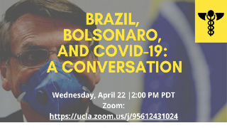 Image for PODCAST: Brazil, Bolsonaro and COVID-19: A conversation