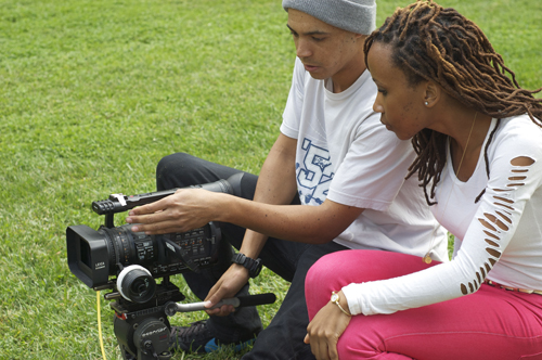 Student documentary filmmaker receives fellowship to produce film in South Africa