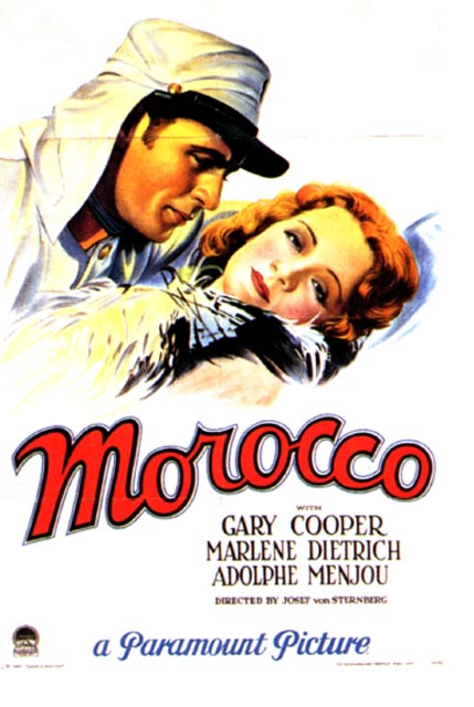 From Casablanca to Sahara: Hollywood